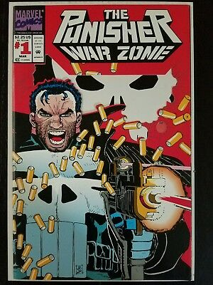 The Punisher: War Zone #1 (Mar 1992, Marvel) NM 9.8  Combined Shipping A9