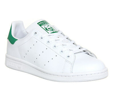 Kids Adidas Stan Smith Trainers Core White Green Kids