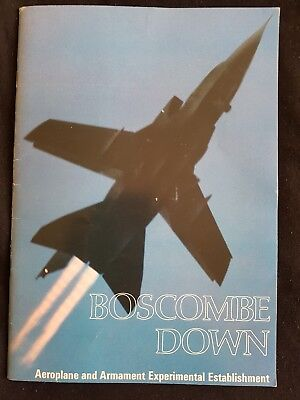 Boscombe down  brochure 1980