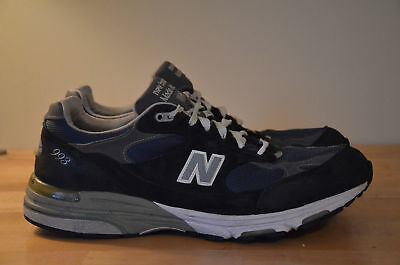 buy popular 7dbf1 e3245 NEW BALANCE 993 Heritage Collection Running Shoes Navy Blue USA MR993NV  Men's 12