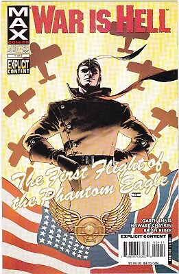 War Is Hell First Flight Of The Phantom Eagle #1, 3, & 5 / Ennis / Chaykin