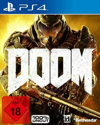 GIOCO PS4 DOOM 100% UNCAT EDIZIONE DAY ONE play station 4 MULTILINGUE