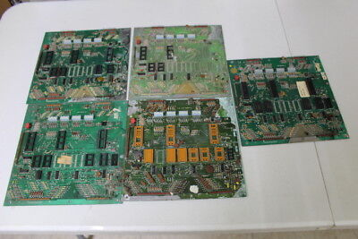 Lot of 5 Used Bally Pinball Machine Boards - FOR PARTS or REPAIR ONLY - Lot 11