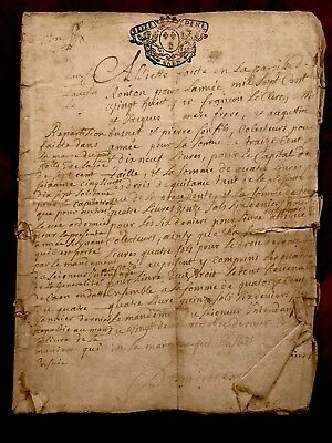 1700s RARE Signed and Handwritten Document 32 PAGES