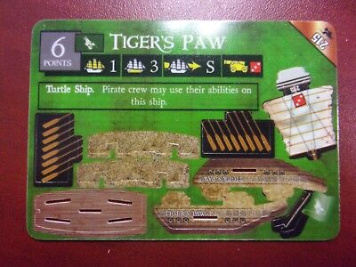 Pirates CSG: Pirates of the South China Seas - Tigers Paw Gold LE ship #215