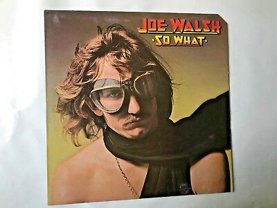 Joe Walsh So What Eagles James Gang Embossed  Lp 1974 Abc Dsd50171 Ex Original