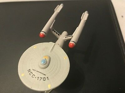 Star trek Micro Machines USS Enterprise 1701 mit Display Ständer