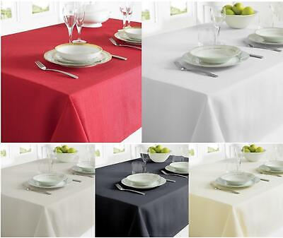 Red Grey White Fabric Tablecloth Rectangular Table Dining Christmas Xmas Decor