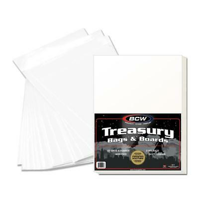 50 Bcw Premade Treasury Bags And Boards