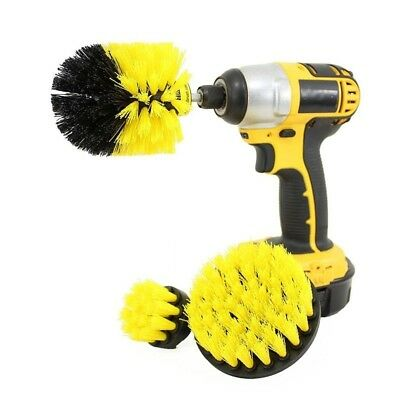Power Scrubber Brush Drill Clean Bathroom Surfaces Tub Shower Tile Cordless Kits
