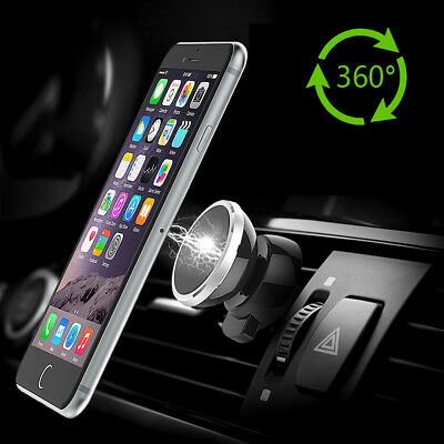 Magnetic Car Phone Mount Air Vent Stand Holder For iPhone 8 X Samsung S8 Note 8