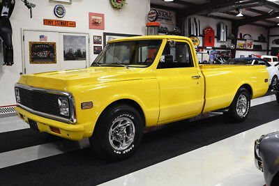 1972 Chevrolet C/K Pickup 2500 C20 PICKUP TRUCK 350 CI ENGINE AUTOMATIC A/C