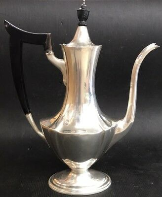Black Starr & Frost Sterling Silver Coffee/Tea Pitcher