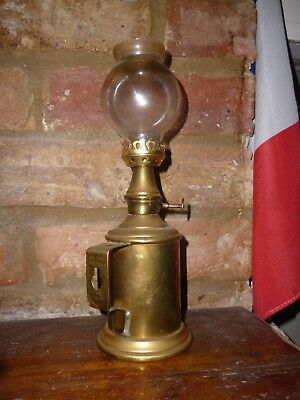 Oil Lamp. French. 'Pigeon'.