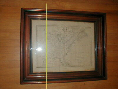 1784 T.Bowen A CORRECT MAP OF THE UNITED STATES Engraved by Bankers New System,