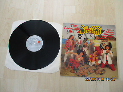 Saragossa Band LP The greatest Hits Club Edition 91 5447 Ariola Compilation 1982