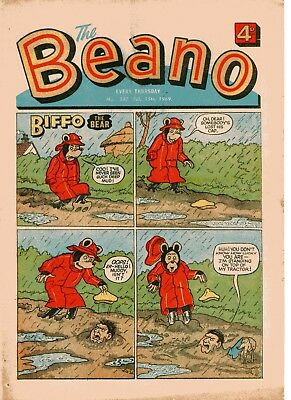 Beano Comic # 1387 February 15th 1969 Biffo Dennis The Menace