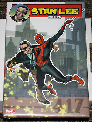 Marvel Stan Lee Meets Oversized HC - Collects All 5 'Meets' One Shots - SEALED