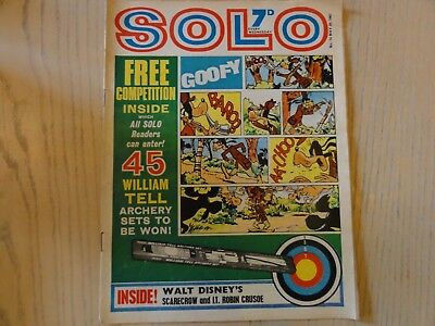 SOLO COMIC - 20th May 1967 - ISSUE 14 - TV & DISNEY - CITY MAGAZINES