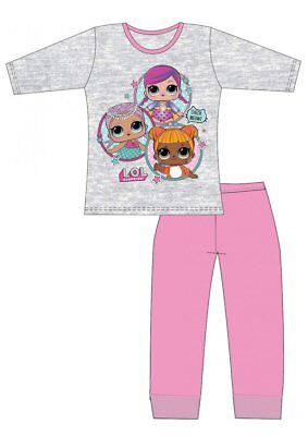 Girls Kids LOL Surprise Pjs Long Sleeve Character Dolls Pyjamas Age 4-10 New
