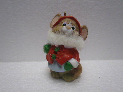 Hallmark Keepsake Ornament Santa Mouse