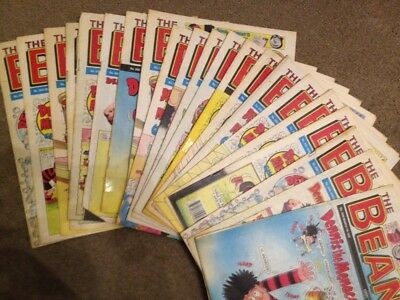 21 Beano Comics From 1992, All Different