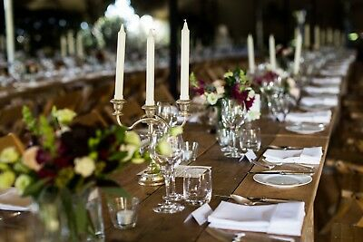 Collection of Silver Candelabra - perfect for a wedding or Christmas