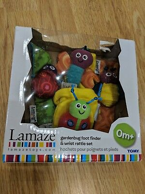 Lamaze Foot Finders and Wrist Rattles boxed