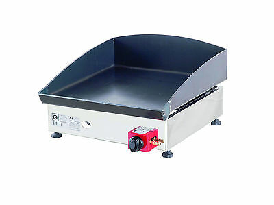 Lpg Griddle / Barbecue / Hot Plate  40 x 40 cm Gasgrill Stahl-Plancha