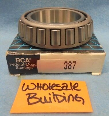 "Bca Bower 387 Tapered Roller Bearing Cone, 2.25"" Bore, 0.8640"" W"