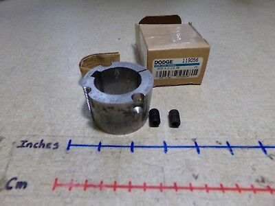 "Dodge 119050 Bushing 1615 Series Fast Shipping! 1-1//8/"" Bore New In Box"