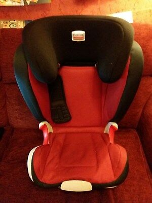 Britax Kid XP Romer car seat ages 4-12years (15-36kg) red and black