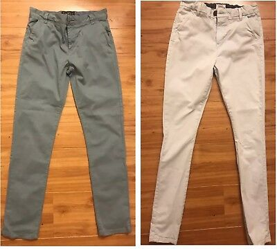 ⭐️2 Pairs Boys NEXT age 14 Skinny Jeans Trousers Excellent Condition ⭐️