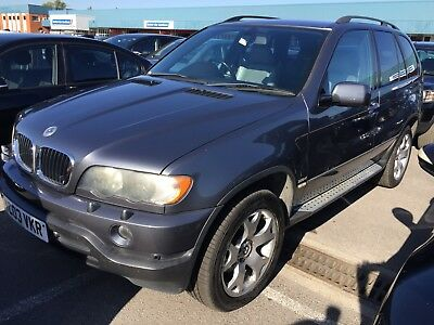 03 Bmw X5 2.9 D Sport Auto *11 Services*drivers Seat Is A Mess Interior Horrid