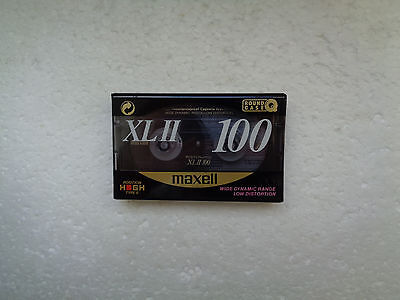 Vintage Audio Cassette MAXELL XL II 100 * Rare From UK 1991 *