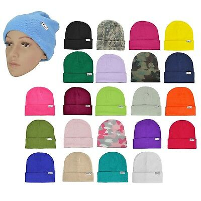 Beanies Cheap Bulk Wholesale Reseller 50 Pack Assorted Colors Retail Package