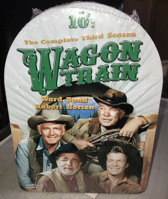 Wagon Train: The Complete 3rd Season [10-Discs] NEW DVD's in a 3D Tin Case!