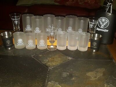 Jagermeister assorted shot glasses