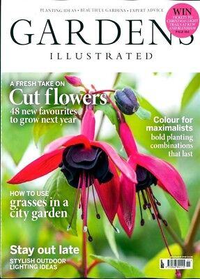 Gardens Illustrated Magazine Issue November 2018 ~ New ~