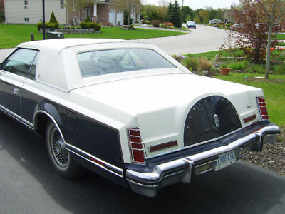 Lincoln: Other 1979 Lincoln Mark V BILL BLASS SPECIAL COLLECTORS EDITION