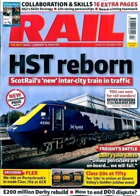 RAIL MAGAZINE ISSUE #864 - 24th OCTOBER 2018 ~ NEW ~