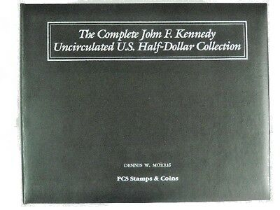 1964-1999  Complete John F. Kennedy Uncirculated U. S. Half-Dollar Collection