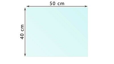 Teleprompter glass 10''. Professional beam splitter T70/R30. 170*204*3,3 mm