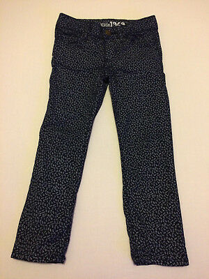 Gap Kids - Floral Jeans Trousers - Girl - Age 4 Years - Excellent Condition