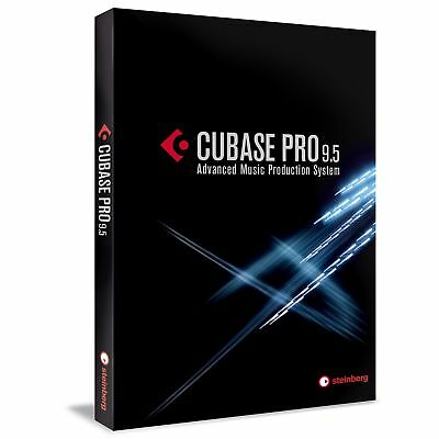Steinberg Cubase PRO 9.5 Production Recording EDUCATION Boxed FREE UPGRADE to 10