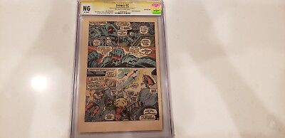Avengers 1963 #67 CGC NG Signed Stan Lee Ultron 6th Appearance Page 9 Only