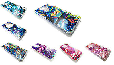 GLITTER MOTION LIQUID Cover Phone Case For Alcatel TCL LX A502DL