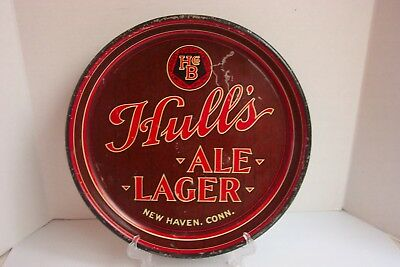 Vintage Hull's Ale Lager Beer Tray -  New Haven, Conn.