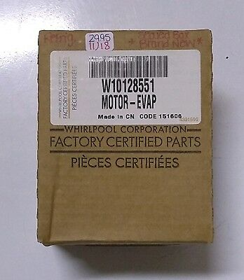 Whirlpool Maytag Refrigerator Evaporator Fan Motor Wp61005339 Udqr 002mb For Fast Shipping Parts & Accessories