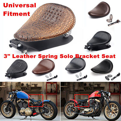 Motorcycle Solo Seat Spring Bracket Base Kit For Harley Sportster XL883 1200